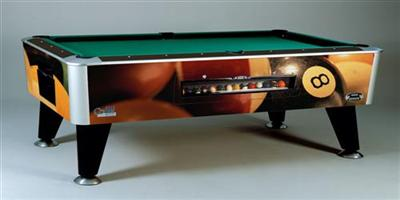 custom pool table option