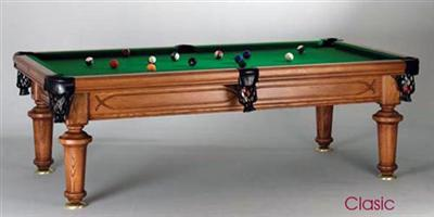 Classic Vintage 8ft Pool / Dining Table