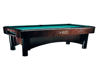 Large professional pool table