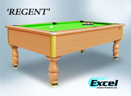 Ft Excel Regent Slate Bed Domestic Pool Table REGENT - Regent pool table