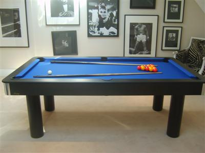 contemporary pool table with dining top
