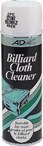 Billiard Cloth Cleaner