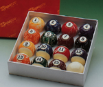 Marblized Pool Balls 2 1/4in