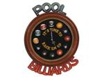 3D Hand Carved and Painted Clock